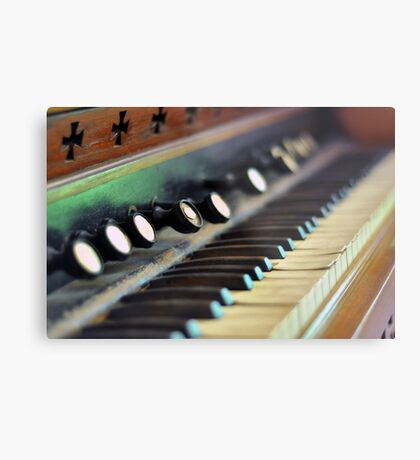 Keys of Ivory - Original Metal Print
