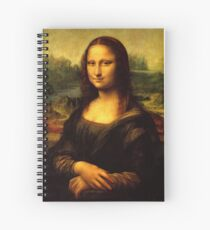 Mona Lisa Spiral Notebook