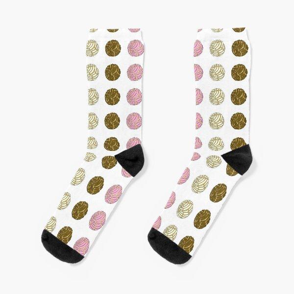 Conchas Pan Dulce Socks
