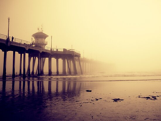 Huntington Beach Pier by Kameron Walsh