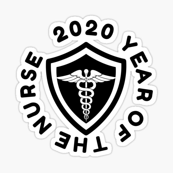 The Year of the Nurse and Midwife 2020 Sticker
