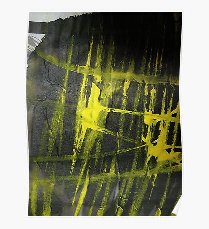 yellow glow.... flames Poster