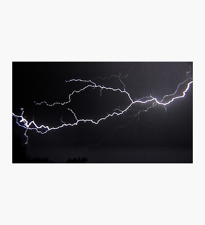 "6/8/2011 Electrical Storm, ""Lightning Strike # 3"" Photographic Print"