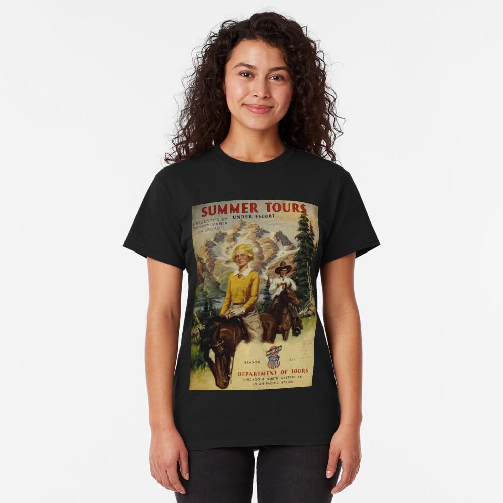 Vintage Summer Tours Catalog Classic T-Shirt