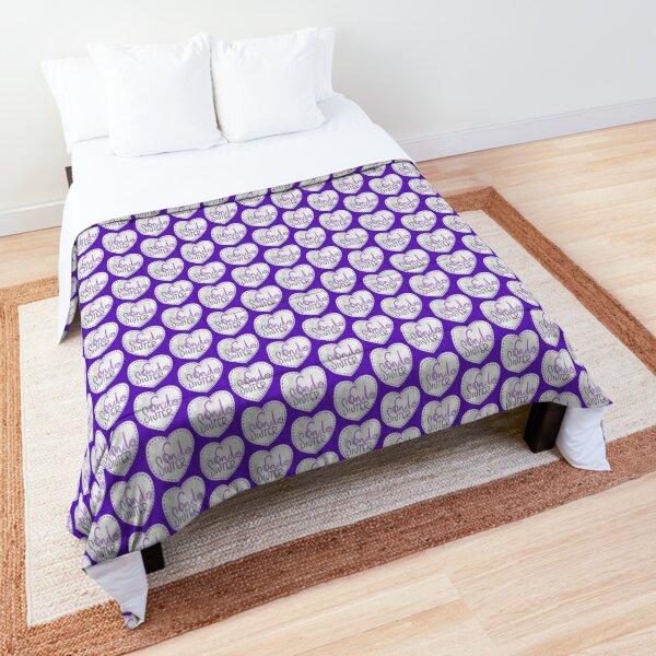 Endometriosis sister awareness handlettering Comforter