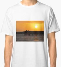 Sunset and Dolphins Classic T-Shirt