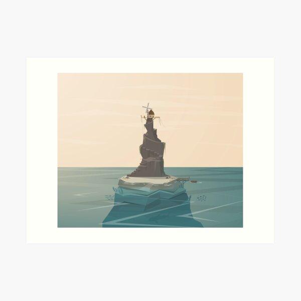 Windmill Island Art Print