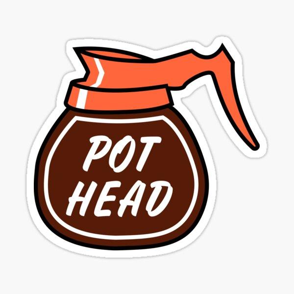 Pothead mug Sticker