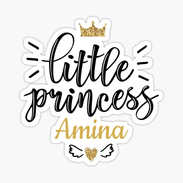 Crown Princess Aurelia On Board Personalised Baby Girl Car Sign