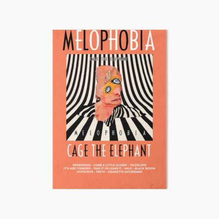 Cage the Elephant - Melophobia Art Board Print