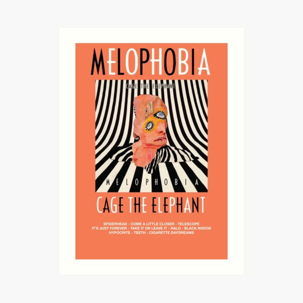 Cage the Elephant - Melophobia Art Print