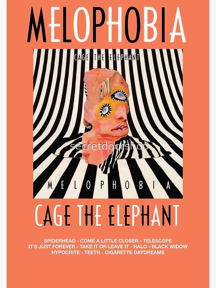 Cage the Elephant - Melophobia by secretdoorshop