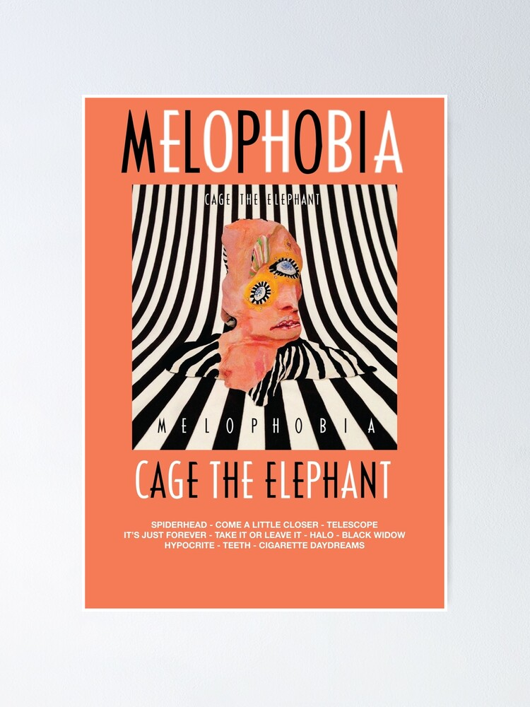 Alternate view of Cage the Elephant - Melophobia Poster