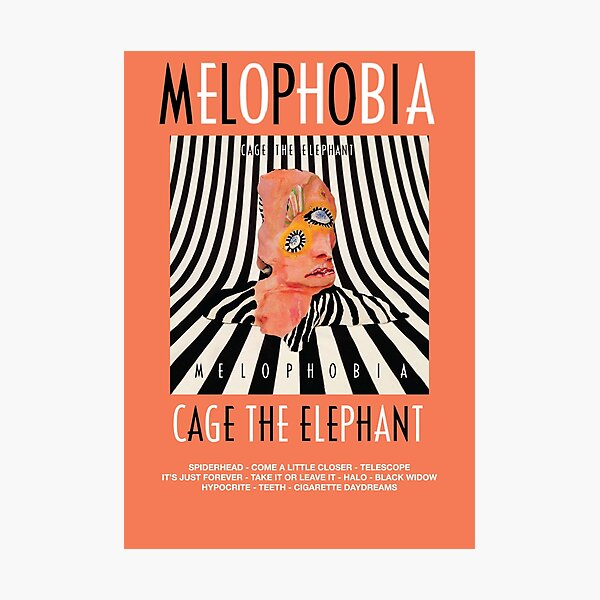 Cage the Elephant - Melophobia Photographic Print