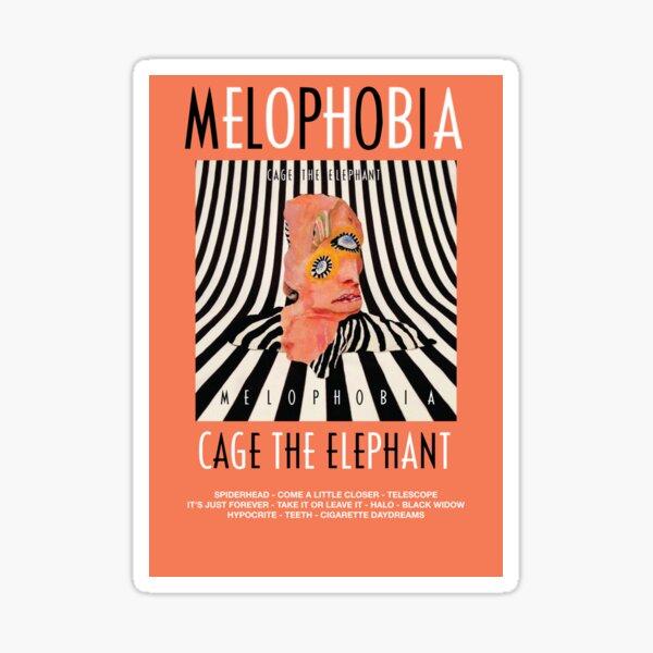 Cage the Elephant - Melophobia Sticker