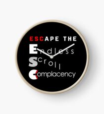 ESC Endless Scroll Complacency Clock