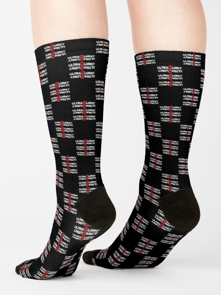 Alternate view of Doubly Ultra Quirky. Socks