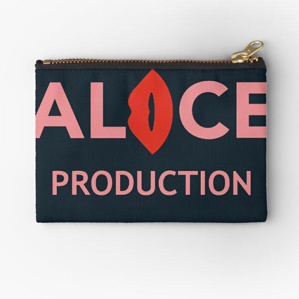 Alice Production Team Logo Zipper Pouch