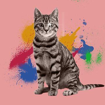 Cat Splash Apparel  by Dozi