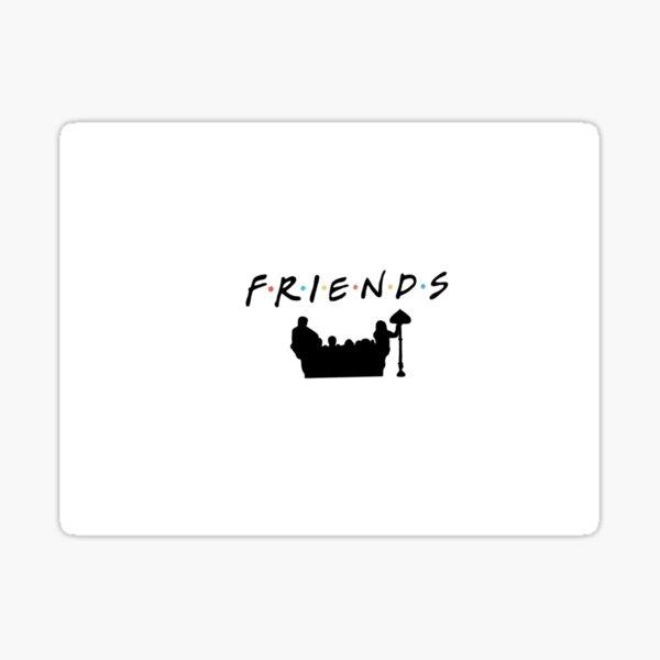 series de pegatinas de amigos, otros Pegatina