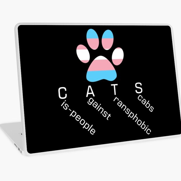 CATS 2 - Cis-people against Transphobia Laptop Skin