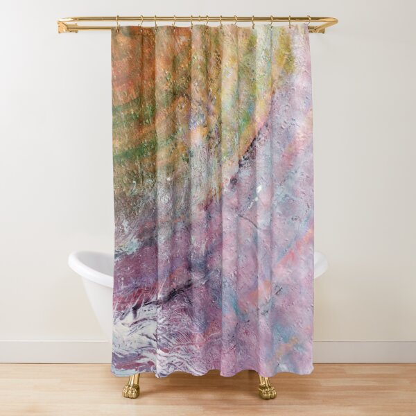 """Hidden"" by Margo Humphries Shower Curtain"