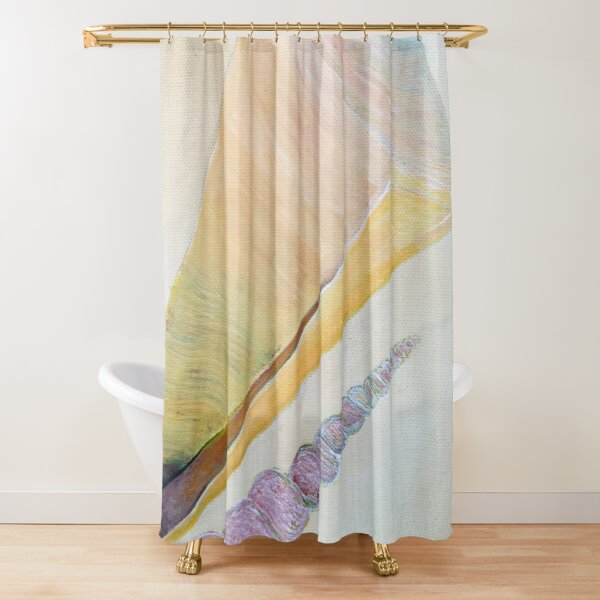 Sea Shells 3 Shower Curtain