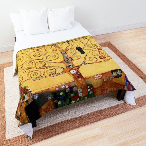 Tree Of Life Restored Version 2 - Gustav Klimt Comforter