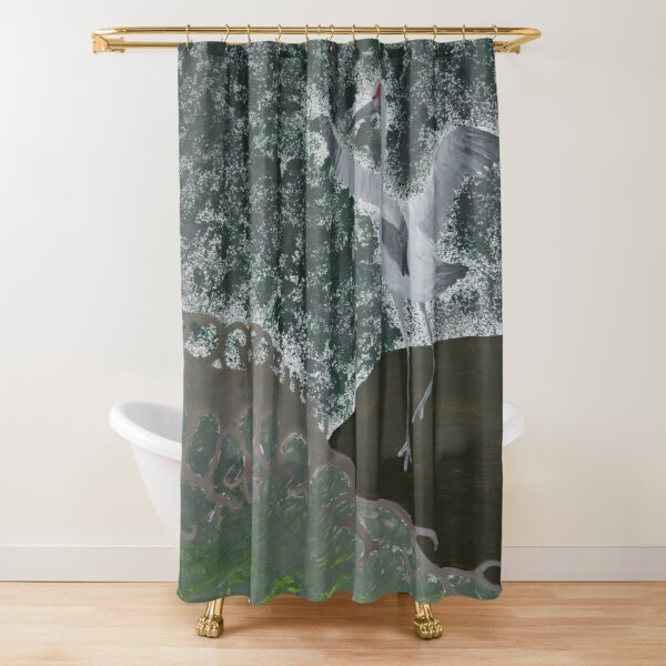 Wetland 2 Shower Curtain
