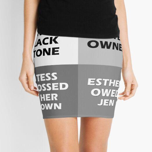 Hormone 4 Panel Mini Skirt