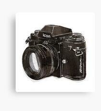 Analog 35mm Nikon F3 single reflex camera Canvas Print