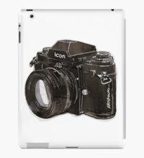 Analog 35mm Nikon F3 single reflex camera iPad Case/Skin
