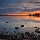 Quiet sunset by camfischer