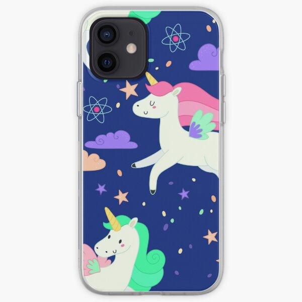 Flying Unicorns iPhone Soft Case