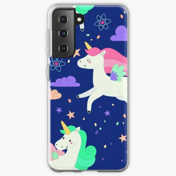 Flying Unicorns Samsung Galaxy Soft Case