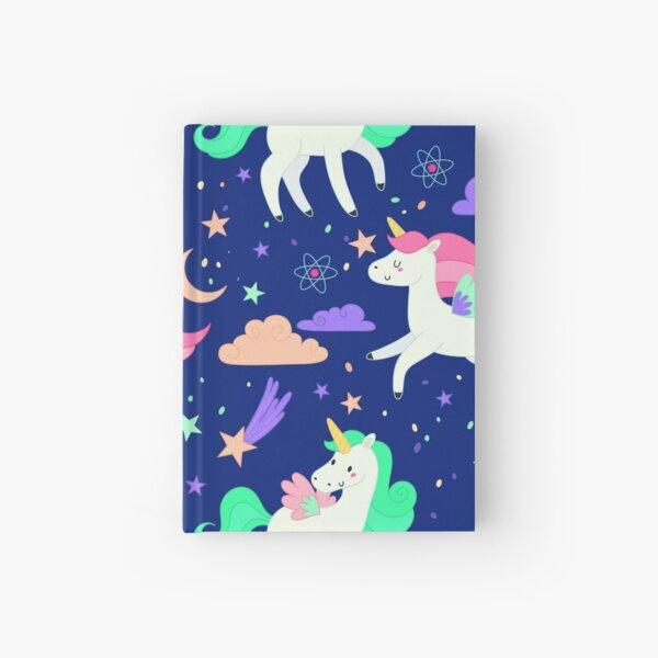 Flying Unicorns Hardcover Journal