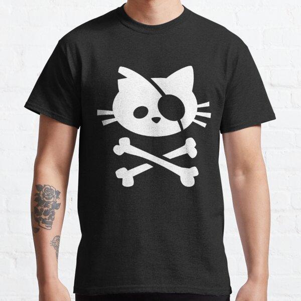 Cute Pirate Cat: Skull and Crossbone Classic T-Shirt