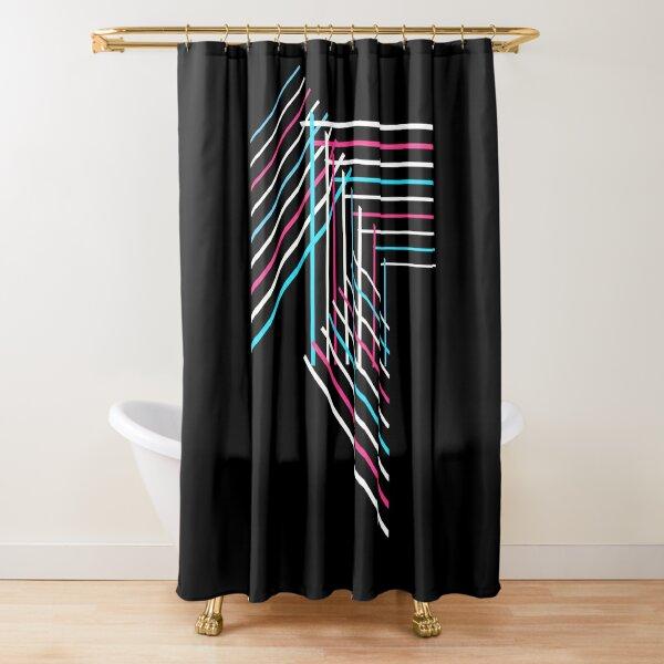Transcend: Patchwork Shower Curtain