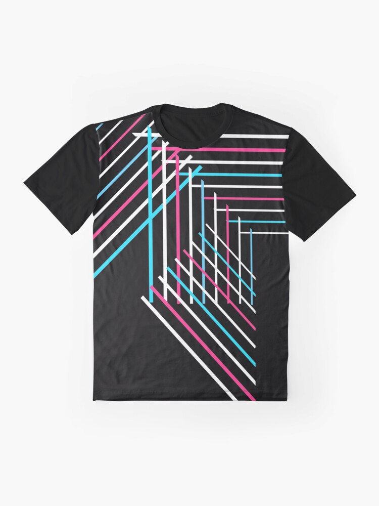 Alternate view of Patchwork Graphic T-Shirt