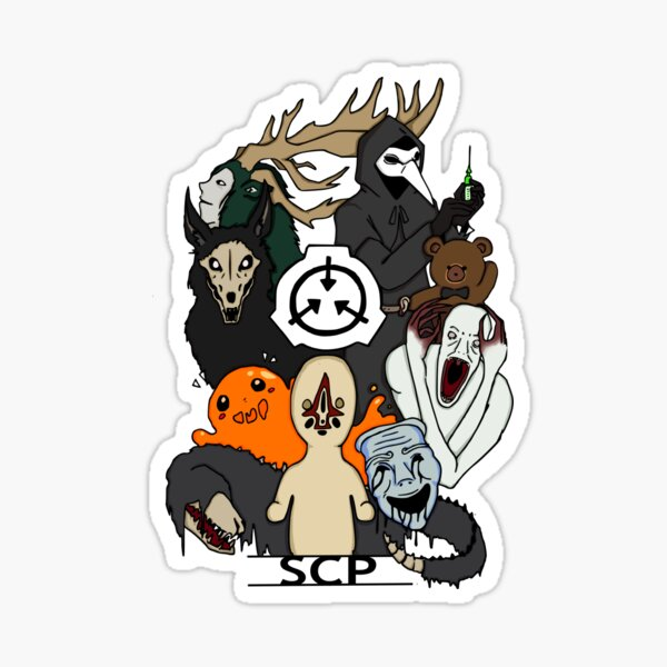 SCP's colored  Sticker