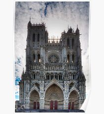 Amiens Cathedral, Somme, France Poster
