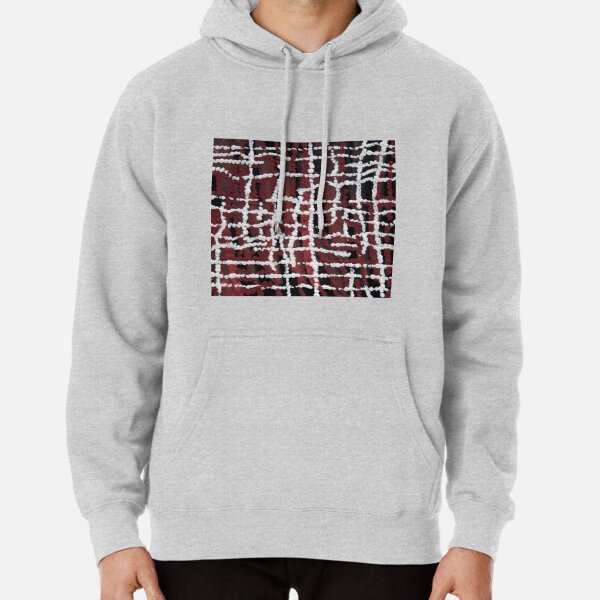 Orangeshed (triptych part a) Pullover Hoodie