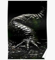 The Dark Side:  Alligator Armor Poster