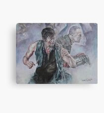 TWD Daryl and Merle Dixon Metal Print