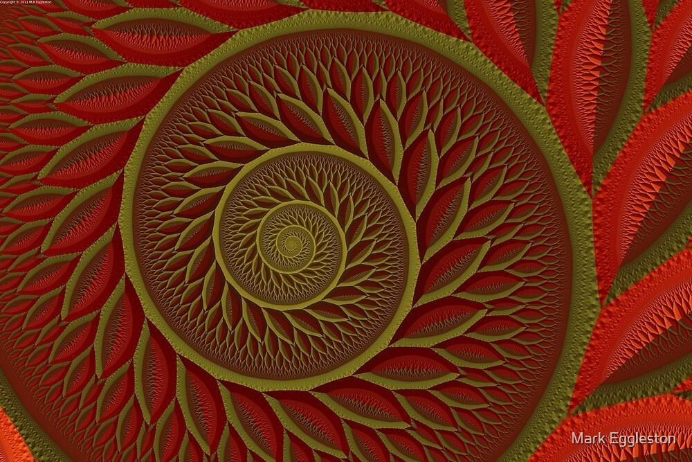 Gaussian Tree Detail 2 by Mark Eggleston