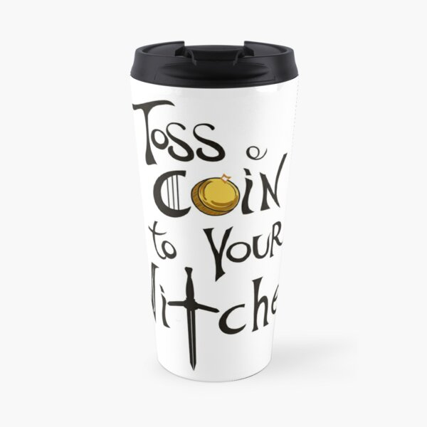 Toss a Coin to your Witcher Travel Mug