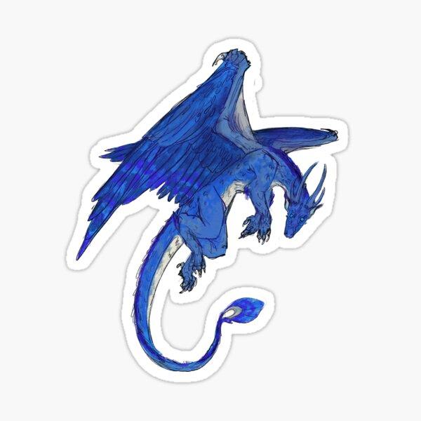 Saphira Dragon Sticker