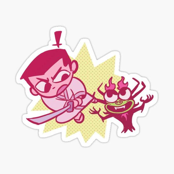 Jack and Aku Sticker