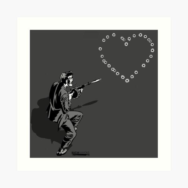 44 Calibre Love Letter Art Print