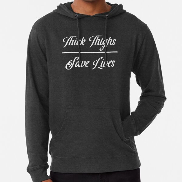 Thick Thighs Lightweight Hoodie